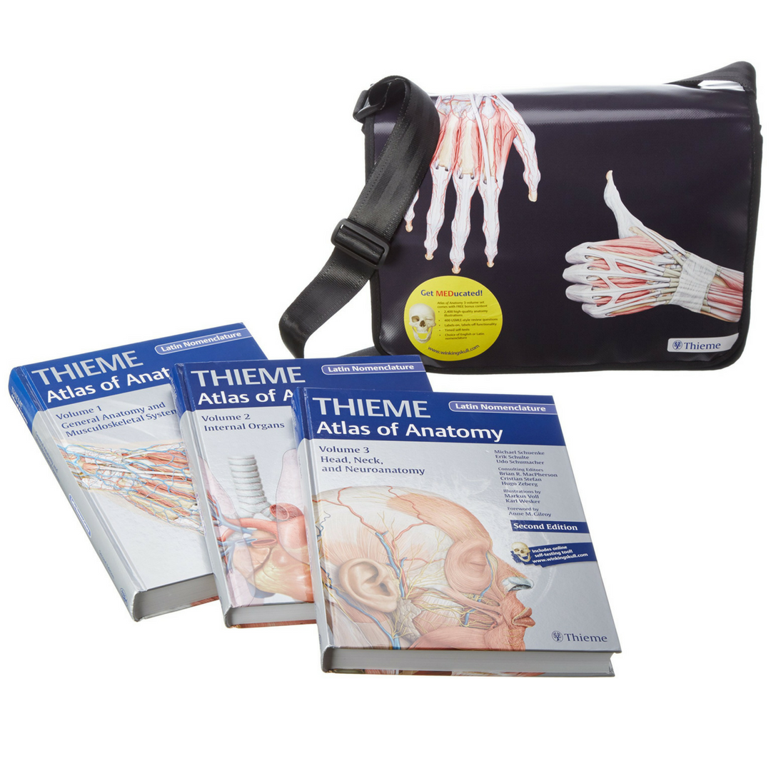 Atlas of Anatomy 3-volyme set   Lääketieteellinen   Medirehabook