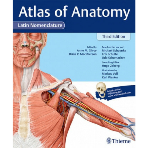 Atlas of Anatomy 3rd, Latin Nom. | Anatomia | Lääketiede | Medirehabook