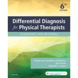 Differential Diagnosis for Physical Therapists 9780323478496